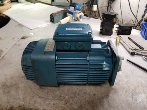 DEMAG .1/.8 HP ELECTRIC AC MOTOR 480 VAC 495/3410 RPM 3 PHASE 80z12/2 FRAME