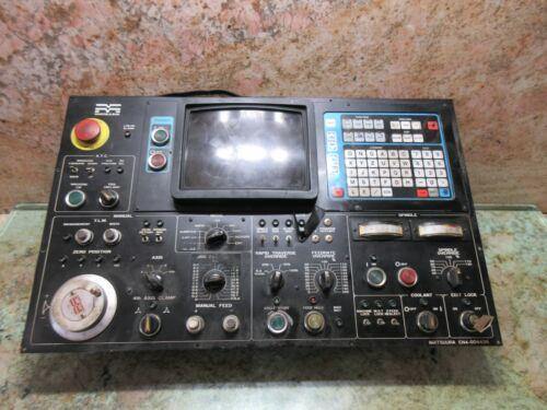 MATSUURA MC-500V2 CNC MILL MAIN OPERATOR CONTROL PANEL EN4-00443A JANCD-SP01