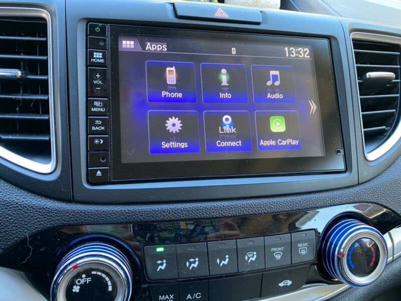 2016 HONDA CRV-EX APPLE CARPLAY ADAPTER Update USB stick
