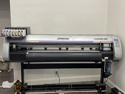 Mimaki Cjv30 - 160 Wide Format Print And Cut 64 Cmyk