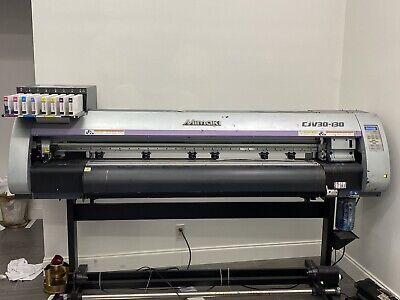 Mimaki Cjv30 - 160 Wide Format Print And Cut 64 Cmyk