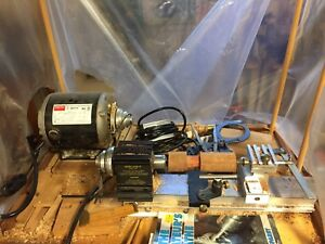 Taig miniature woodworking / metal lathe