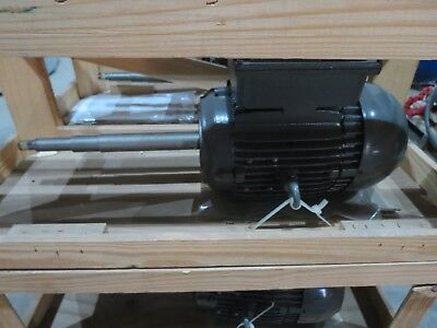 Weg 5 Hp Electric Motor 20487903 230 60 Hz B14rd Single Phase