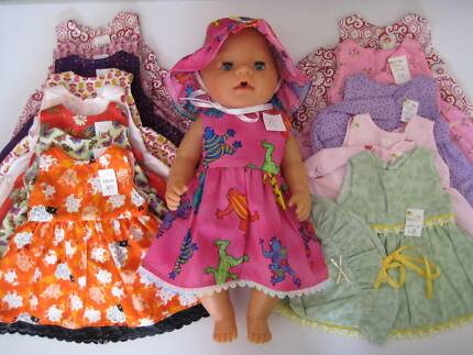 Baby Born Dresses, Sleeping Bags and other clothes. Seville Grove Armadale Area Preview
