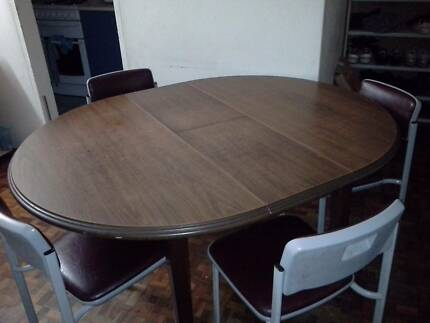 Dining table with six Chairs Auburn Auburn Area Preview