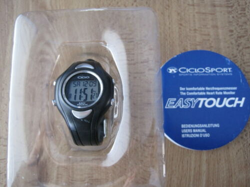 CicloSport Easy Touch Heart Rate Monitor, Original package and Instruction book