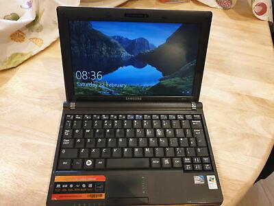Samsung NC10 Black Laptop Netbook PC Windows Office, Wifi, Bluetooth, Carrycase