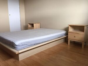Double Bed set 100$ OBO