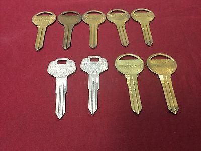 Nissan Mazda By Curtis Automotive Key Blanks Ml14 Da27 Set Of 9 -locksmith