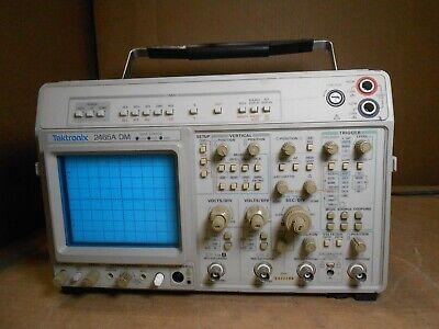 Tektronix 2465a Dm Four Channel Oscilloscope