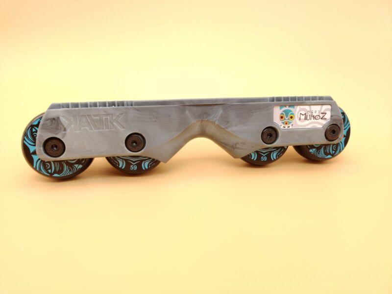 KALTIK V1 ready to roll setup (inline skating aggressive inline rollerblading)