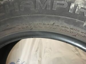 4 tires/pneus Chamipro hiver /winter