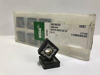 Widia Cnmg644ur Cnmg190616ur New Carbide Inserts Grade Wk20ct 8pcs