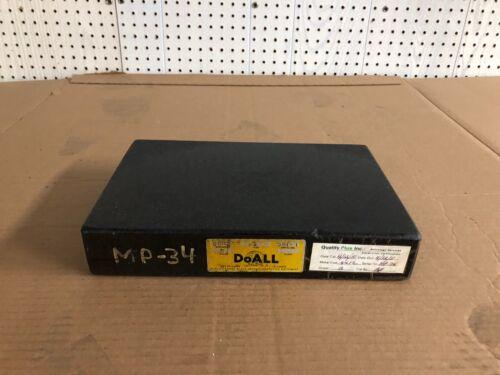 DoAll Black Granite Surface Plate