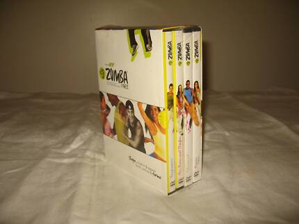 zumba fitness dvd 4 volume set - NEW SEALED