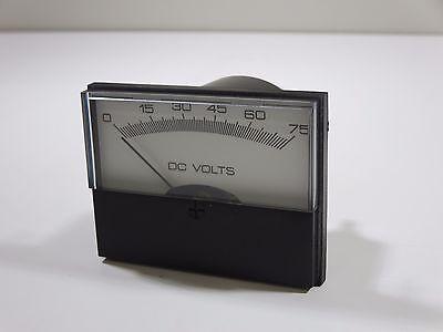 Yokogawa 260220pbpb9 Dc Voltmeter 0-75vdc 2-12 Surface Mounted 3270601