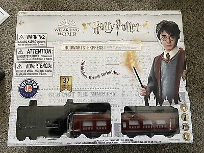 Lionel HARRY POTTER Ready To Play HOGWARTS EXPRESS Train Set 7-11960 Remote NEW