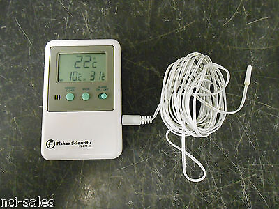 Fisherbrand 15-077-8d Traceable Digital Thermometer With Short Sensors