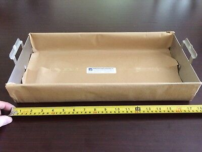Pelton Crane Autoclave Tray - Large Stainless New Never Used
