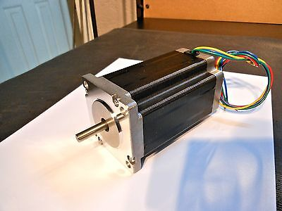 Nema 23 Stepper Motor 3.5a 600oz In. 3.9mh Inductance 8mm Dual Shaft Motor