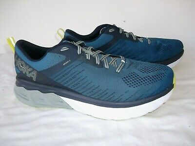 HOKA ONE ONE 'ARAHI 3' TIME TO FLY RUNNING TRAINERS 8 UK EXCELLEN  CONDTION