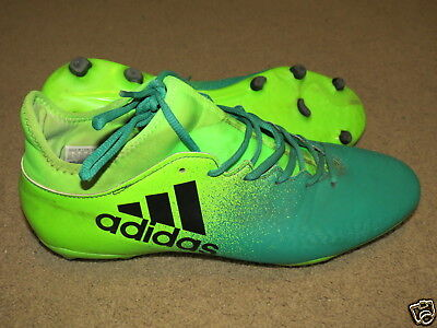 Adidas TechFit 2-tone green (gr fade to gr) soccer cleats / shoes - mens 12