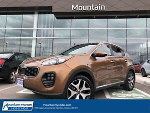 2017 Kia Sportage SX Turbo AWD | BLUETOOTH | LEATHER | NAVIGATIO