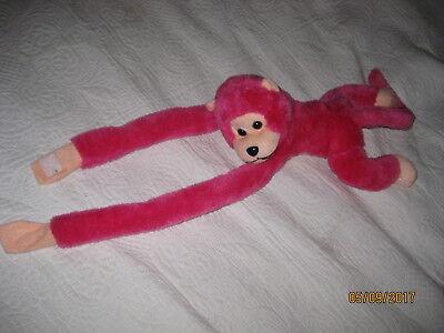 Plüschtier Stofftier Affe mit langen Armen, macht Kreischgeräusch, ca.45 cm lang ()