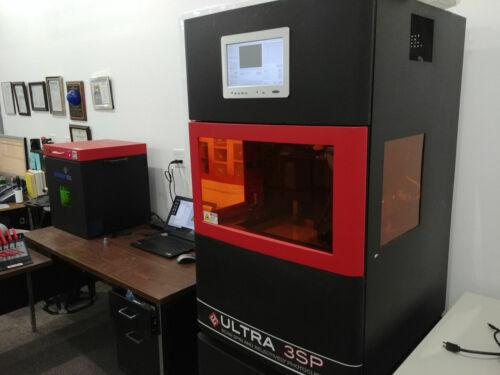 Envisiontec Ultra 3SP SLA 3D Printer complete working turnkey system