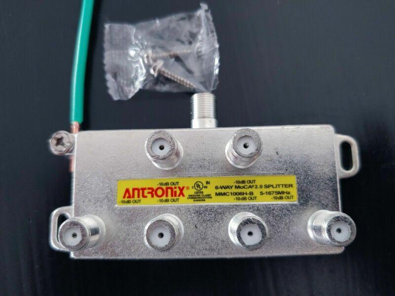ANTRONIX 6-WAY MoCA 2.0 SPLITTER MMC1006H-B 5-1675MHz FOR FIOS FRONTIER/ VERIZON