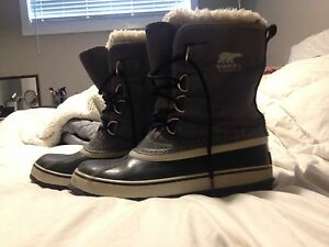 Grey sorel snow boots Kingston Kingston Area image 1