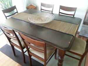 extendable dining table in Brisbane Region QLD Home Garden