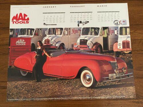 1994 MAC Tool Calendar Poster 1941 Chrysler Newport Dual Cowl Phaeton
