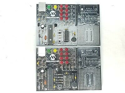 Lot Of 2 Microchip Pickit 1 Flash Boards