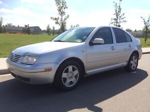 2000 Volkswagen Jetta 1.8T Fully Loaded with safety Inspection