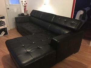 Sofa lit en L avec espace rangement