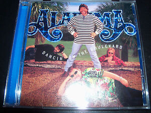 Alabama-Dancin-On-The-Boulevard-Country-CD-Like-New
