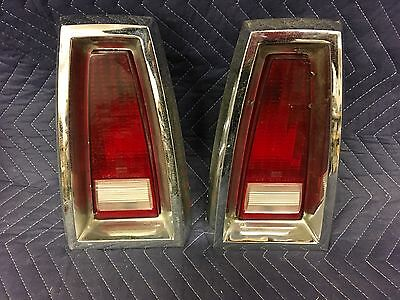 68 Mercury Comet Original Tail Light's LOOK NICE 3