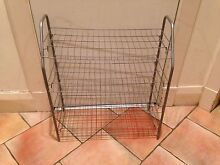 Handy Spacious 4 Level Silver Metal Shoe Rack Coogee Eastern Suburbs Preview