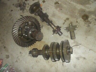 Massey Harris 44 Mh Tractor Complete Transmission Drive Gears Set Pinion