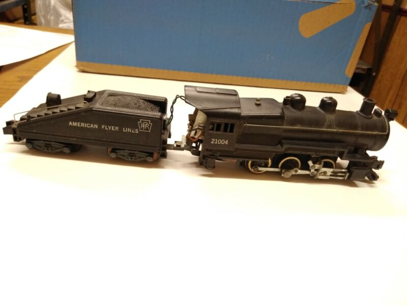 Vintage American Flyer 21004 Steam Locomotive w/PRR Tender Instructions Trains