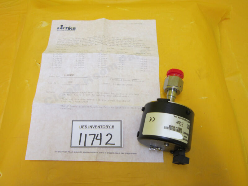MKS Instruments 122A-11063 Baratron Transducer AMAT 1350-01019 Refurbished