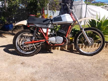 Cz125 motocross  classic