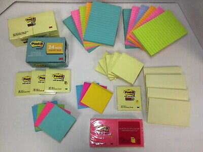 Post-it Notes Americas Favorite Sticky Note Super Sticky Pop-up Lined 71 Ct