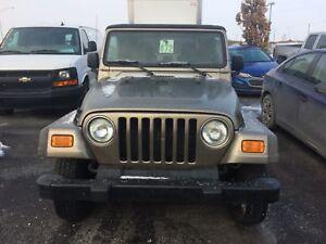2006 Jeep Wrangler 2 PORTES