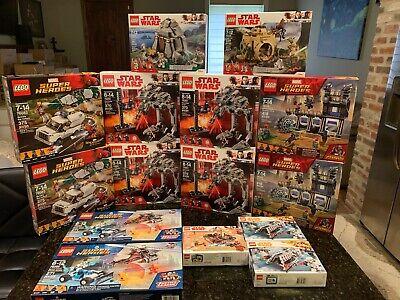 LEGO Star Wars & Super Heroes 15 set lot