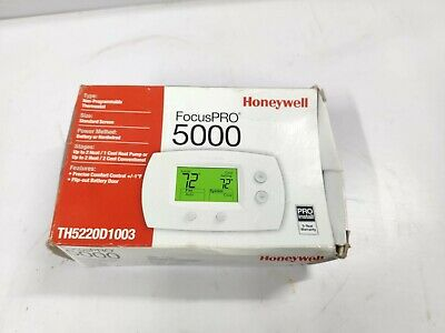 Honeywell Focus Pro 5000 Non-programmable Digital Thermostat
