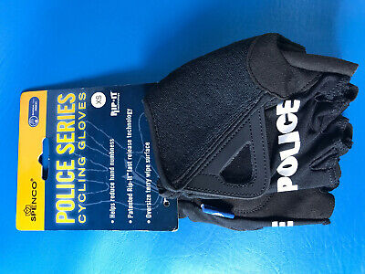 Spenco Police Series Cycling Bike Padded Half Finger Woman Gloves Size XS NEW Spenco Cycling Gloves