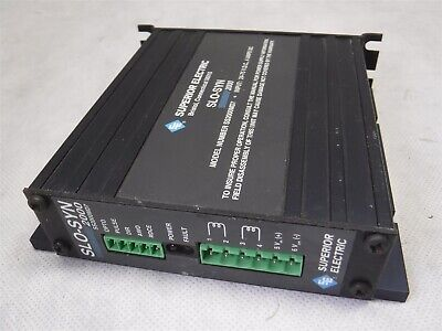 Used Nice Superior Electric Slo-syn 2000 Ss2000md7 Stepper Drive H6