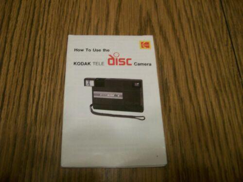 HOW TO USE THE KODAK TELE DISC CAMERA 1985